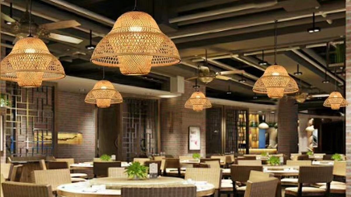 某餐厅中式灯工程案例