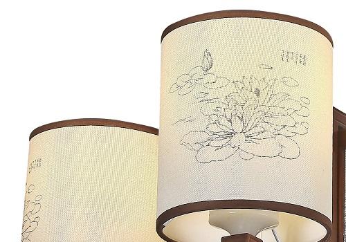 伊美特-传统中式橡木吊灯茶楼灯M8553