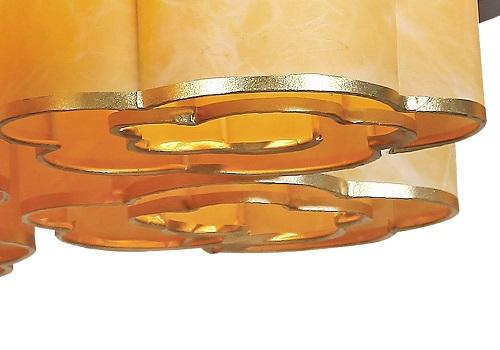 伊美特-传统中式樟子松吊灯M8552