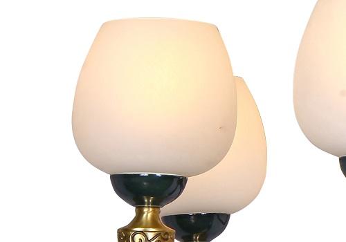 伊美特-新中式铜+木吊灯Y96031