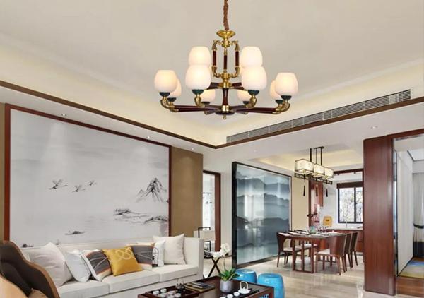 新中式铜+木