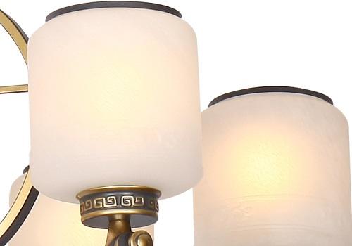 伊美特-锌合金新中式吊灯MD5215