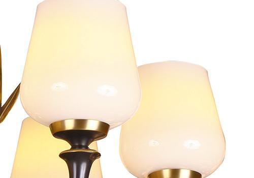 全铜新中式吊顶灯R53005-6