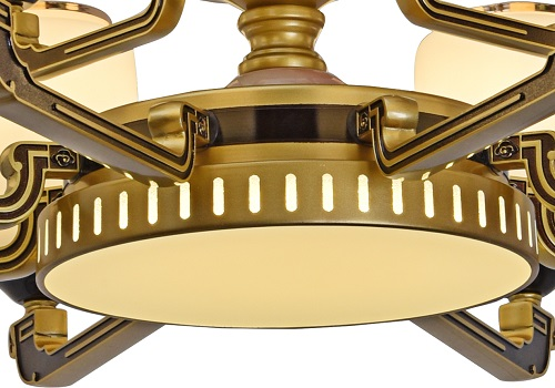 伊美特-锌合金新中式吊灯XD5735