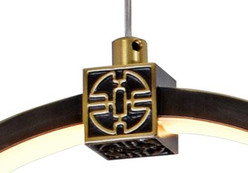 伊美特-全铜新中式吊灯MD2255