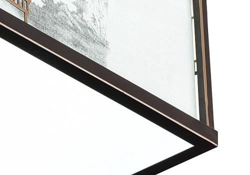 伊美特-铁艺新中式灯F78027方