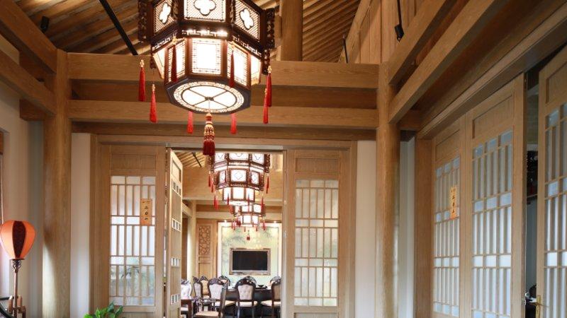 民宿中式灯