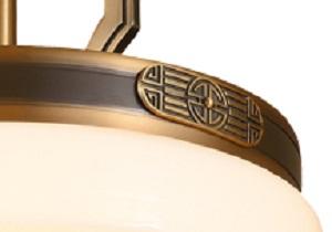 伊美特-铁艺新中式吊灯W5015
