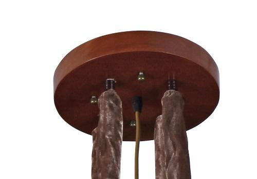 伊美特-传统中式橡木吊灯M8555