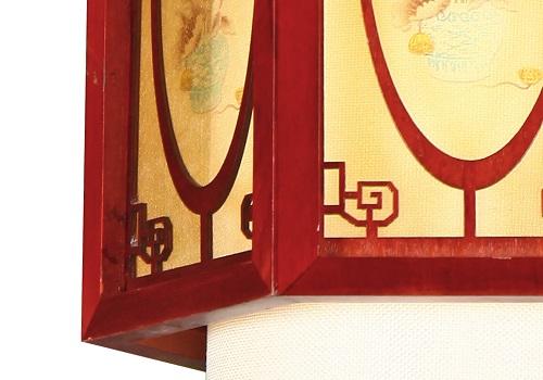 伊美特-传统中式樟子松吊灯M8556
