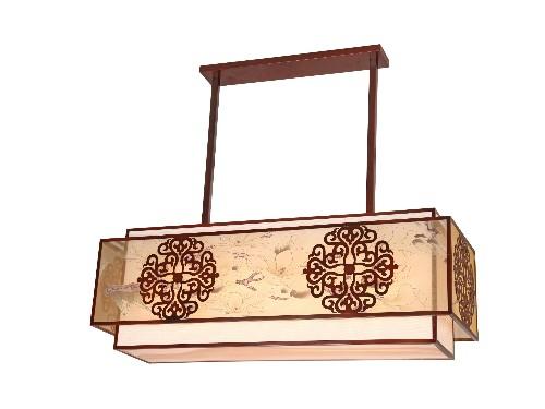 伊美特-铁艺新中式吊灯-XD5700