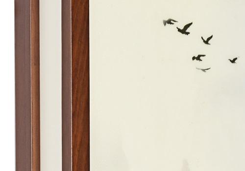 伊美特-木艺中式壁灯S1177