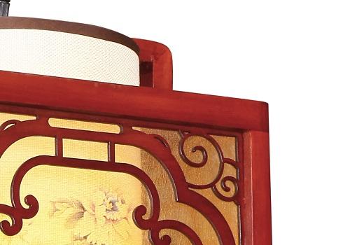 伊美特-传统中式樟子松吊灯M8538