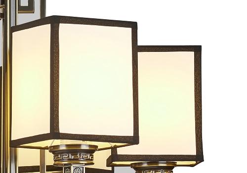 伊美特-铁艺新中式吊灯F78056