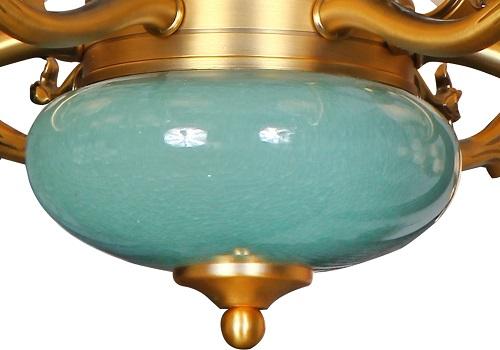 伊美特-锌合金新中式吊灯-MD5203