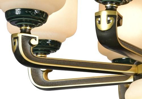 伊美特-锌合金新中式吊灯MD5213