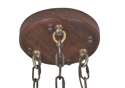 传统中式刺猬紫檀灯Q77007-6+1