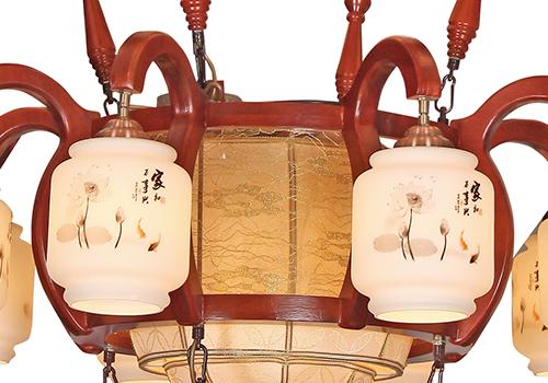 传统中式大型吊灯M8860-10+8+4