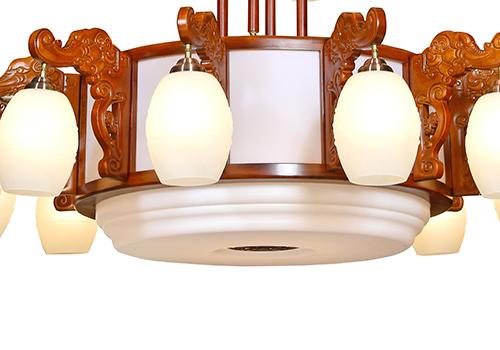 传统中式大型吊灯M8861-12+8+4