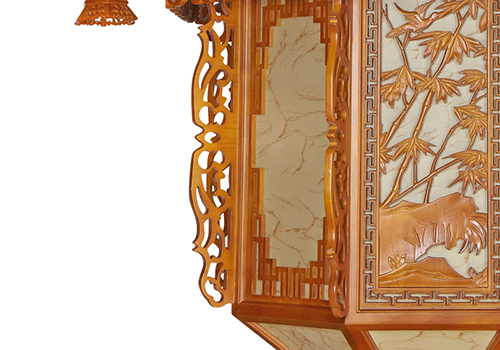 传统中式桤木灯CD8203