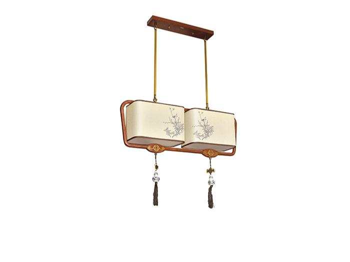 传统中式橡木灯M8565-2