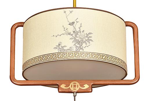 传统中式橡木灯M8566