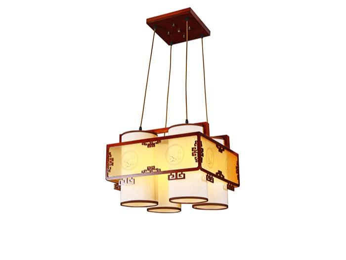 传统中式樟子松灯M8535-4