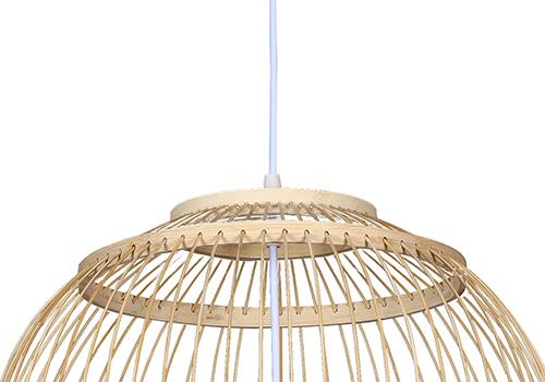 传统中式竹编灯E7559