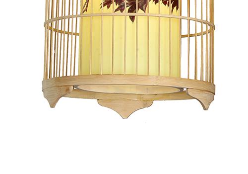 传统中式竹编灯E7560