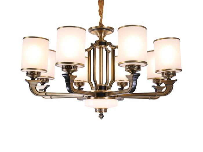 锌合金新中式吊顶灯W5015-8