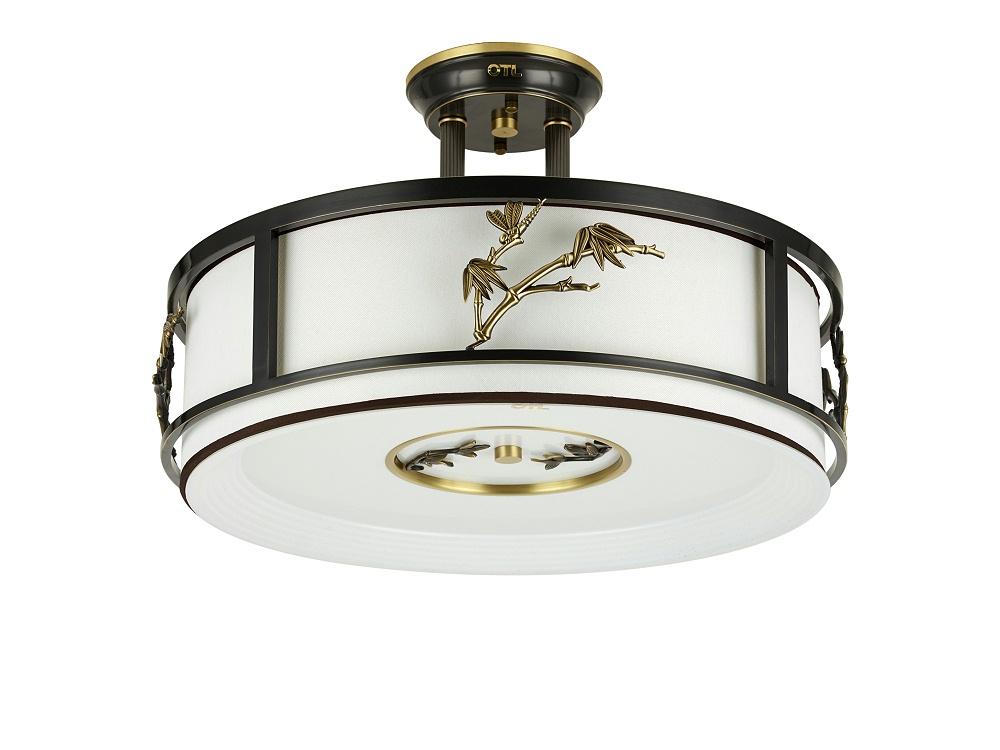 伊美特-全铜新中式吸顶灯A5910半吊