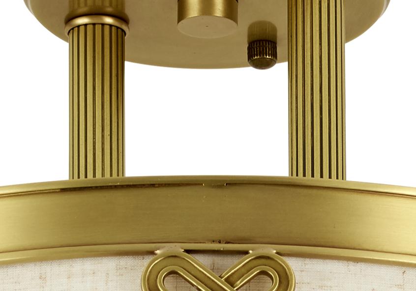 伊美特-全铜新中式吸顶灯A5908/400吸