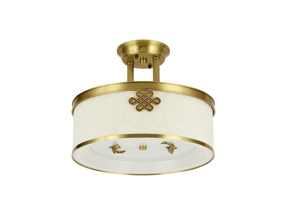 伊美特-全铜新中式吸顶灯A5908/半吊