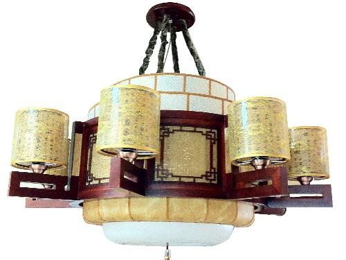 伊美特-传统中式吊灯M8529/8+1