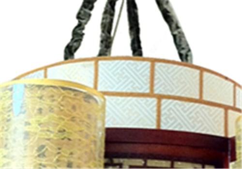 伊美特-传统中式樟子松吊灯M8529/8+1