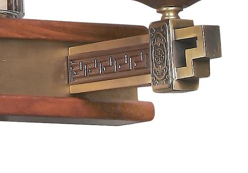 伊美特-刺猬紫檀中式吊灯Q77002
