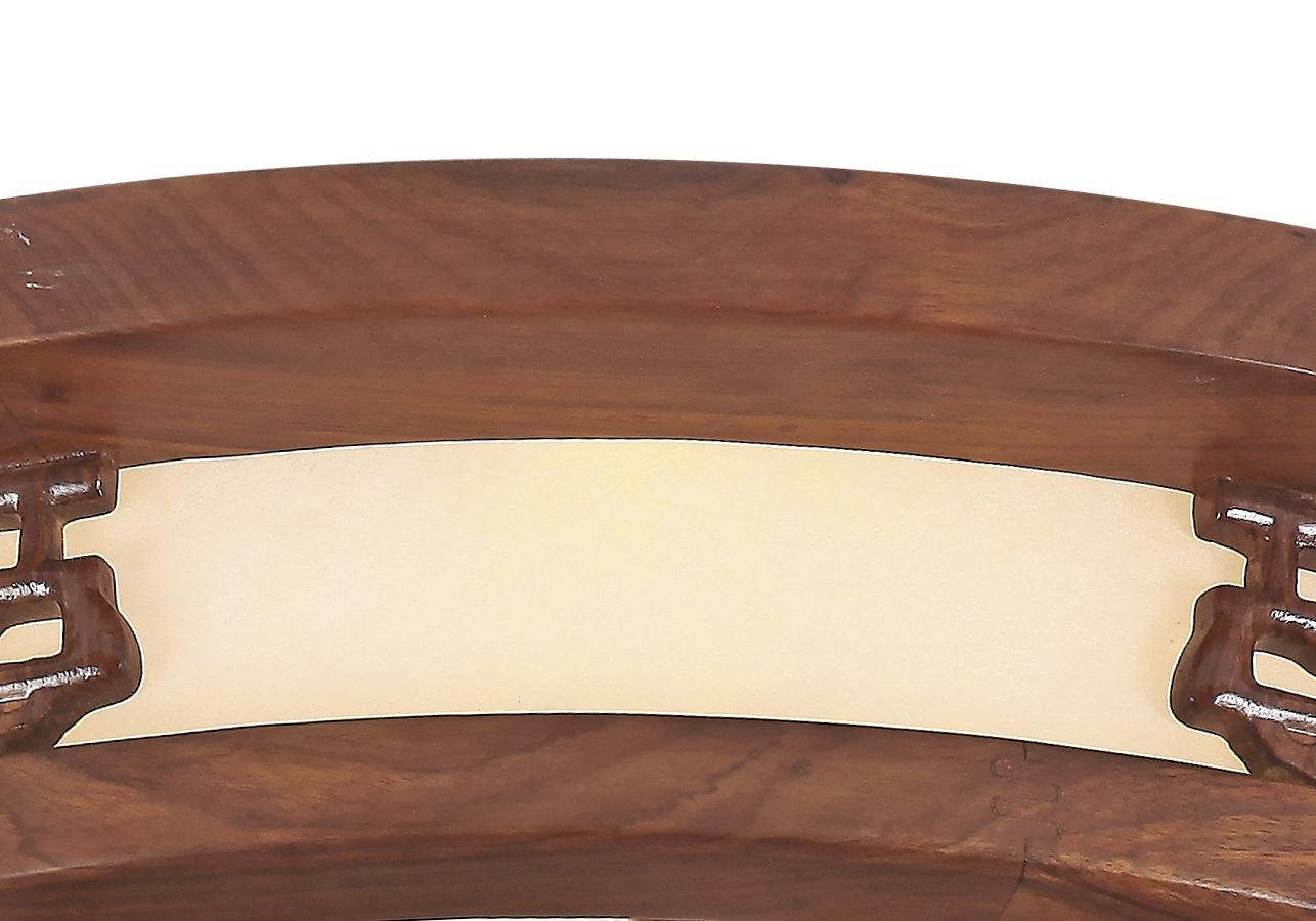 伊美特-刺猬紫檀中式吊灯Q77003