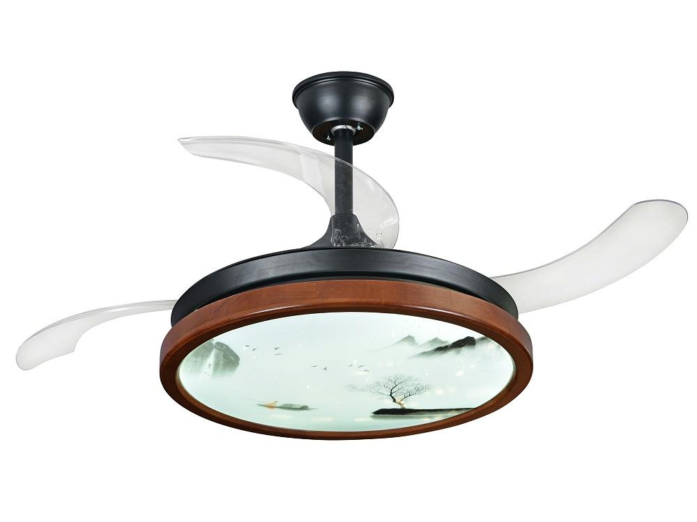 伊美特-传统中式风扇灯J9066