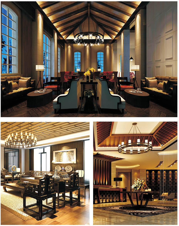 广州某酒店中式灯设计案例