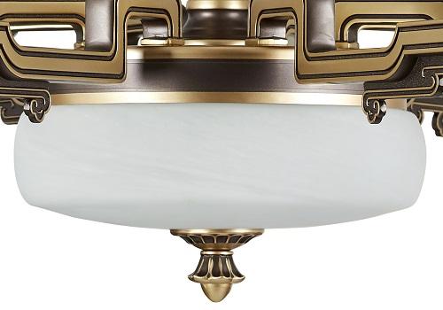 伊美特-锌合金新中式吊灯-MD5212