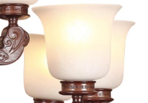 伊美特-橡木中式吊灯Y96001