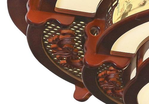 伊美特-传统中式橡木吸顶灯M7102
