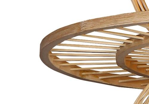 传统中式竹编灯E7557