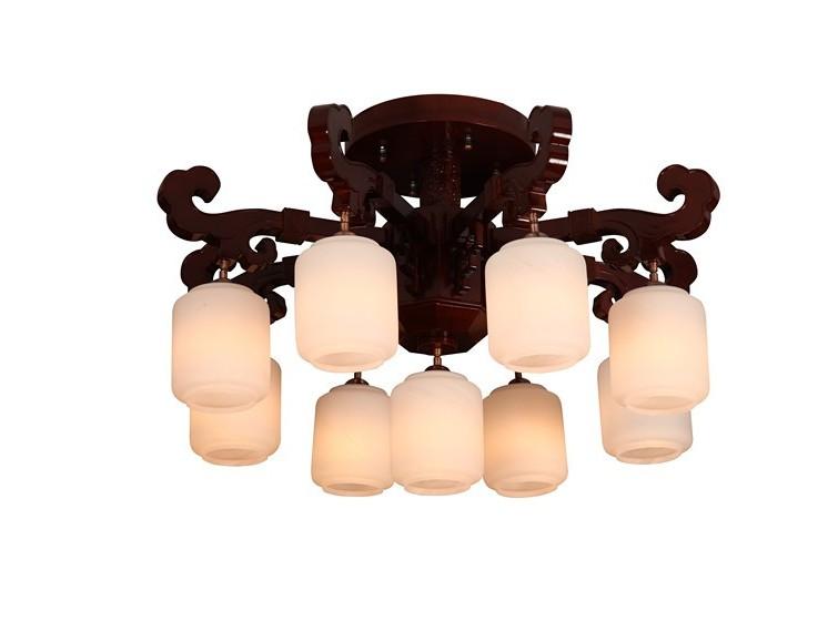伊美特-橡木中式灯Y96008