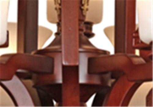 伊美特-橡木中式吊灯Y96002